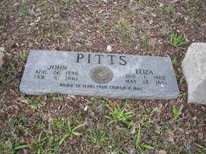 PITTS CEMETERY
