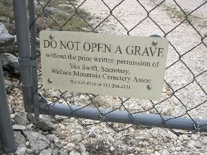 WALLACE MOUNTAIN CEMETERY