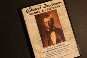 Historical Commission Releases Latest Documentary on Edward Burleson, Soldier & Statesman