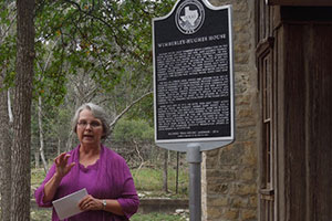 Wimberley-Hughes House Marker Dedication Ceremony