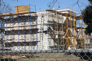 Work Continues on Old County Jail Restoration