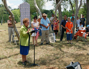Historical Marker Dedication for Cementerio del Rio
