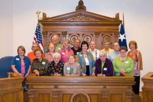 Newly appointed members to the Hays County Historical Commission