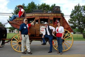 HCHC Stagecoach in Kyle 130 Year Celebration Parade