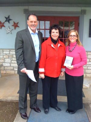 Hays Historical Commission Donates DVD's to Wimberley ISD